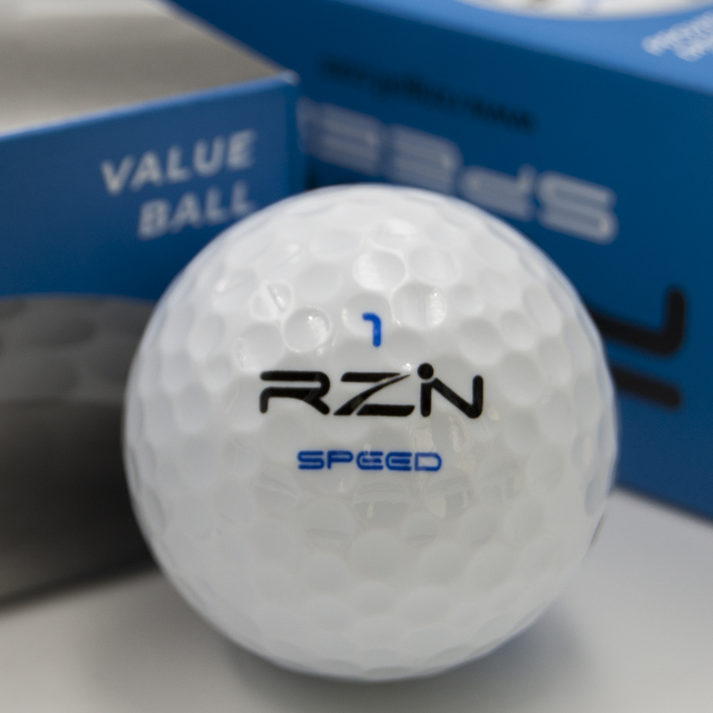 RZN Speed Golf Ball front