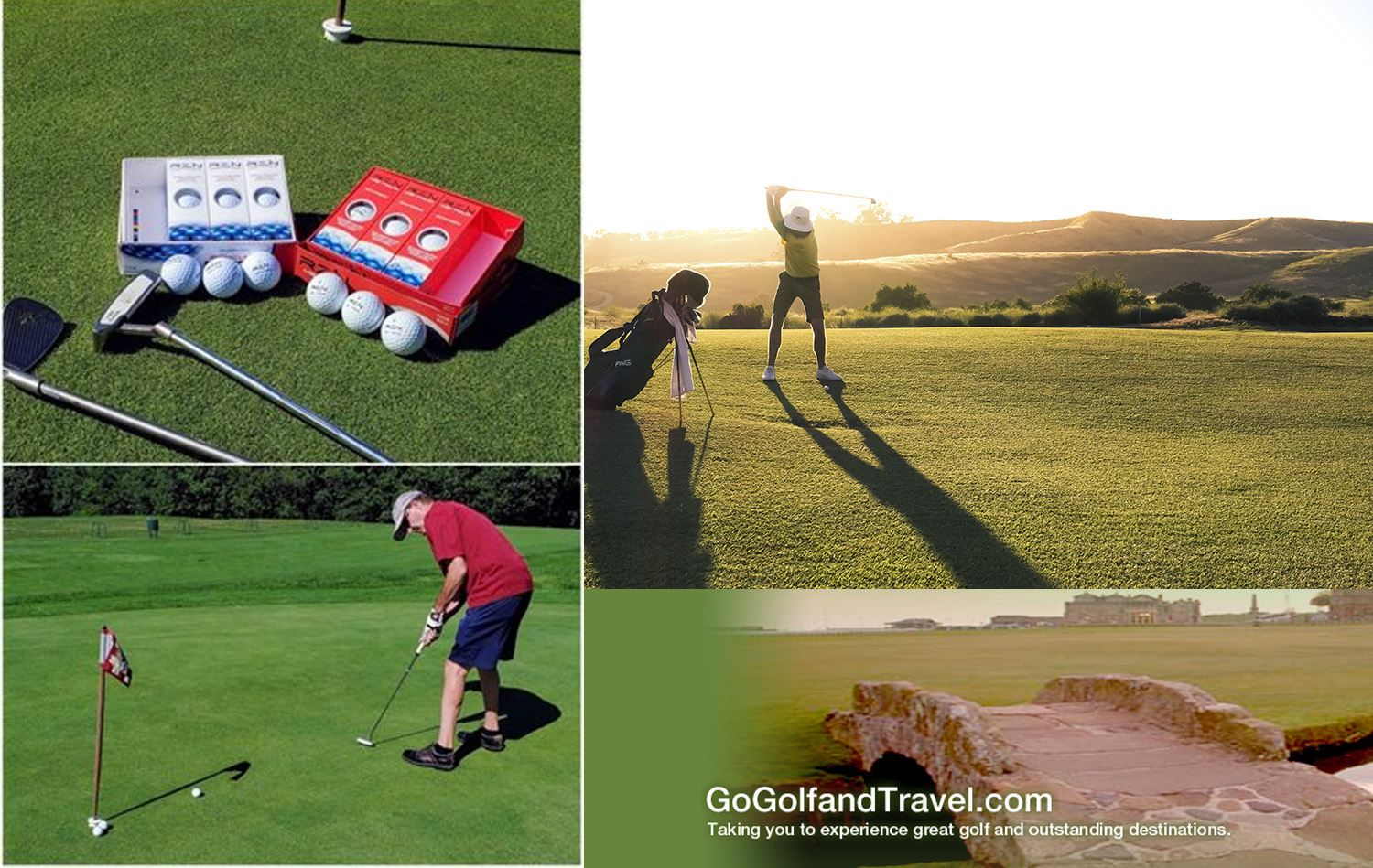 Review of the RZN Distance and MS-Tour Golf Balls By: GoGolfandTravel.com