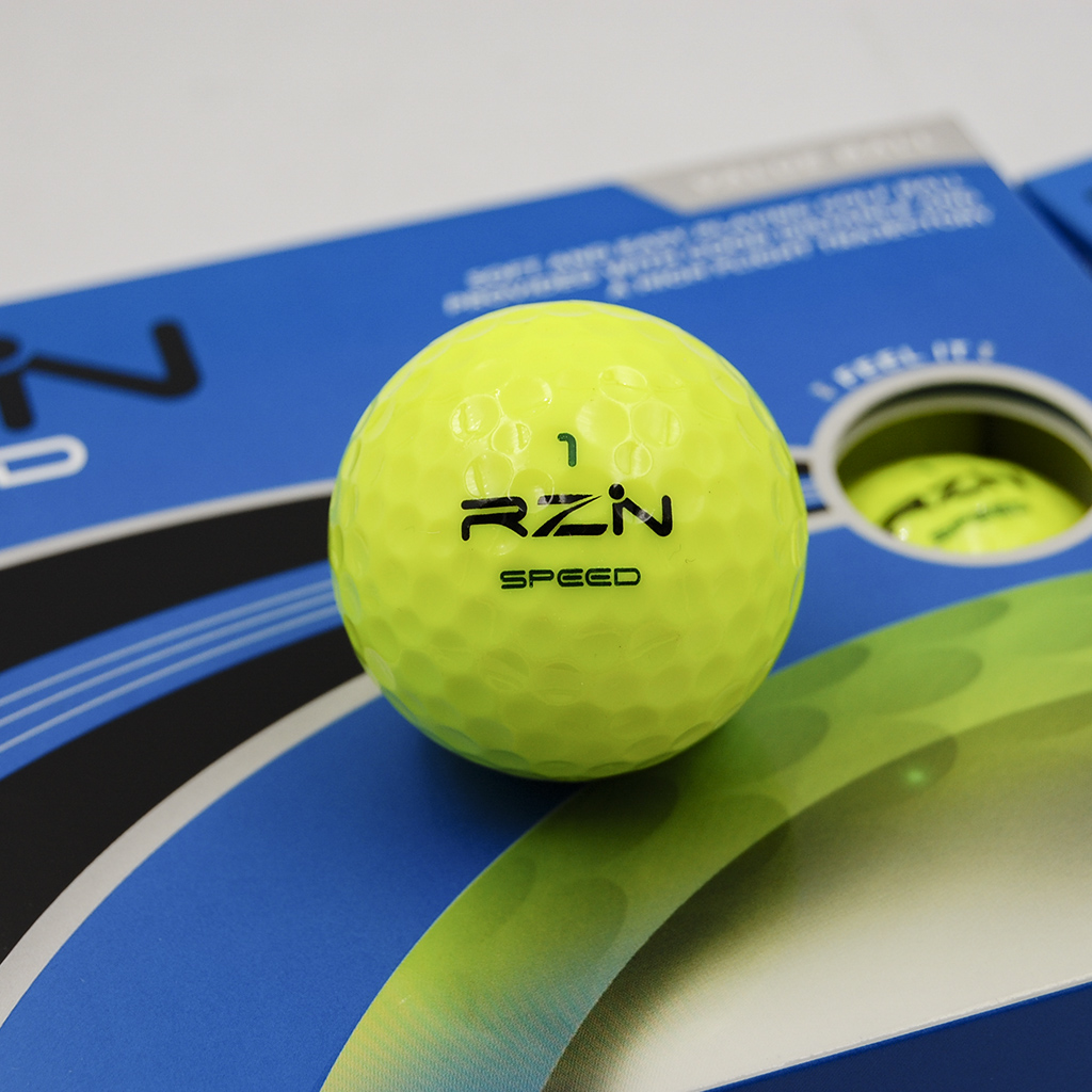 Yellow pro golf balls RZN Golf balls