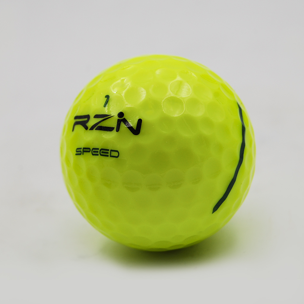 Yellow professional golf balls: RZN