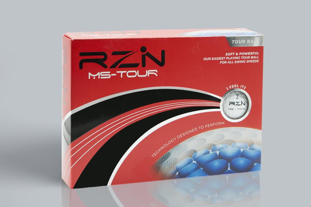 RZN MS-TOUR GOLF BALLS