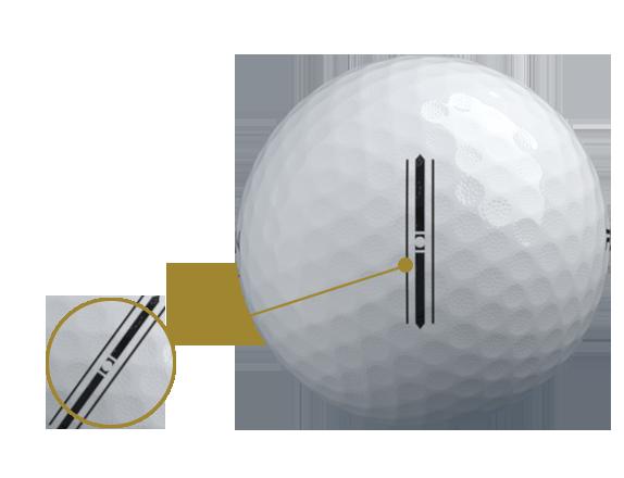 RZN Golf balls micro dimples
