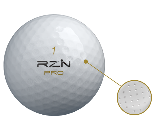 RZN PRO Micro dimples