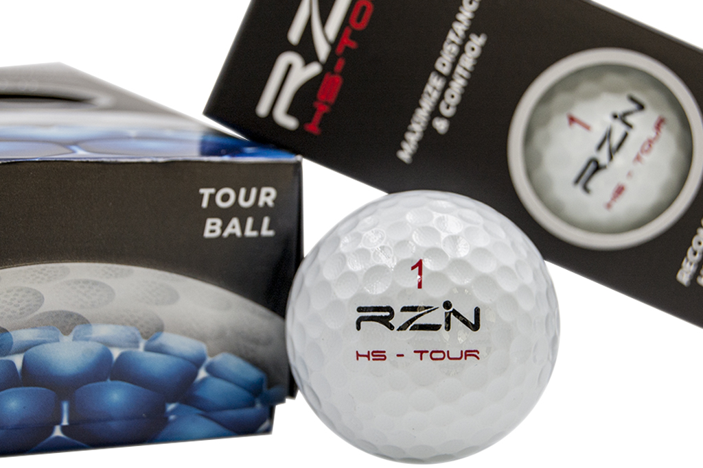 RZN Golf balls, bolas de golf RZN