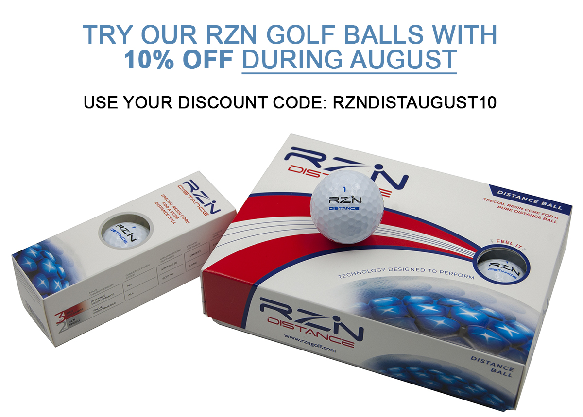 Golf Balls with discount: RZN DISTANCE